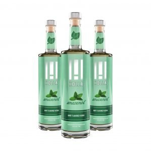 Holla Vodka Mint 3 Pack
