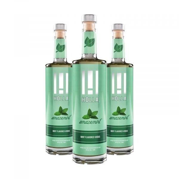 Holla Vodka Mint 3 Pack