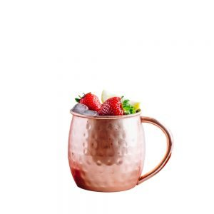 Holla Spirits Recipes- Strawberry Pineapple Mule