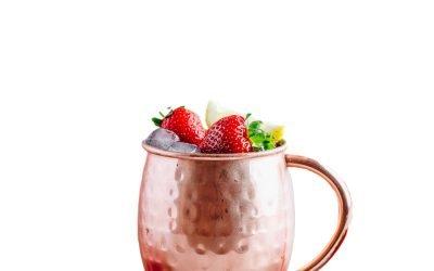 Strawberry Pineapple Mule
