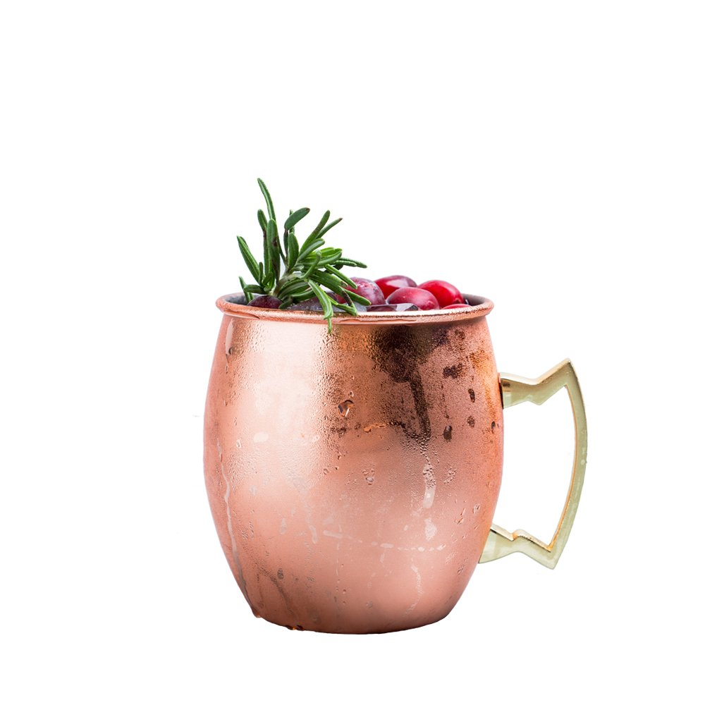 Holla Spirits Recipes- Cran-Cinnamon Mule