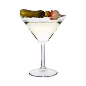 Holla Spirits Recipes- Dirty Pickle Martini